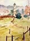 Tower at Glendalough