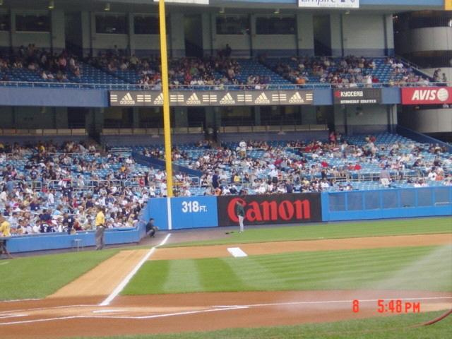 Yankee Stadium - Down The Line