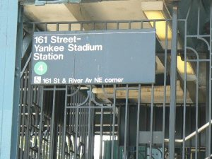 Subway Stop Yankee Stadium