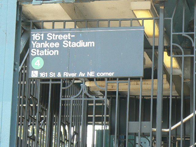 Subway Stop Yankee Stadium