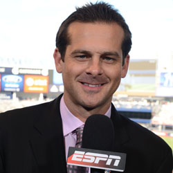 Aaron Boone - Monday Night Baseball - August 13, 2012