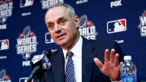 MLB Commissioner, Rob Manfred (Photo: Sporting News)