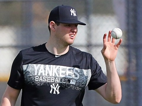 Yankee: Jordan Montgomery Photo Credit: Charles Wenzelberg/New York Post