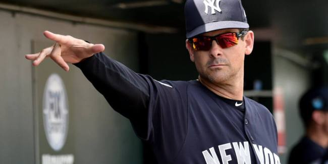 Aaron Boone, Manager, NY Yankees