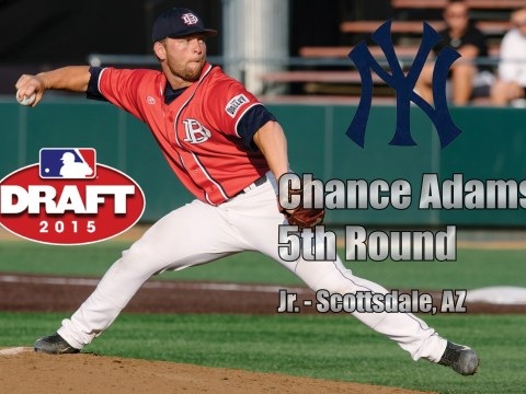 Chance Adams, Perennial Yankees Prospect
