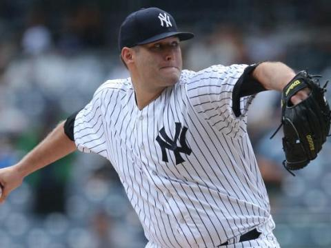 Lance Lynn, New York Yankees Photo Credit: SNY TV