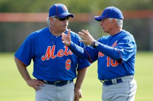 Wally Backman and Terry Collins 2012, Photo Credit: Reuters