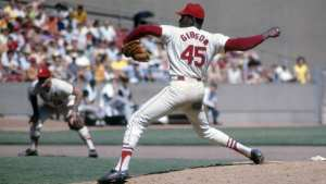 Bob Gibson, Hall of Fame Pitcher Photo Credit: The Daily Beast