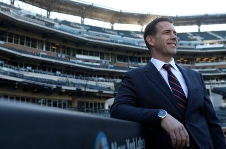 Brodie Van Wagenen, GM New York Mets Photo Credit: Northjerser.com