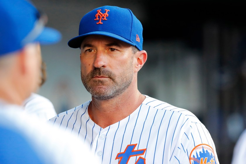 Mickey Callaway, Manager, New York Mets Photo Credit: New York Post