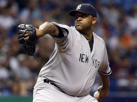 CC Sabathia, New York Yankees Photo Credit: USA Today