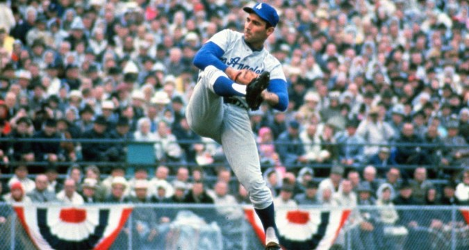 The Left Hand Of God - Sandy Koufax Photo Credit: ESPN