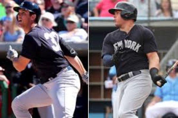 Greg Bird And Luke Voit - Battle For First Base Job (Photo: New York Post)