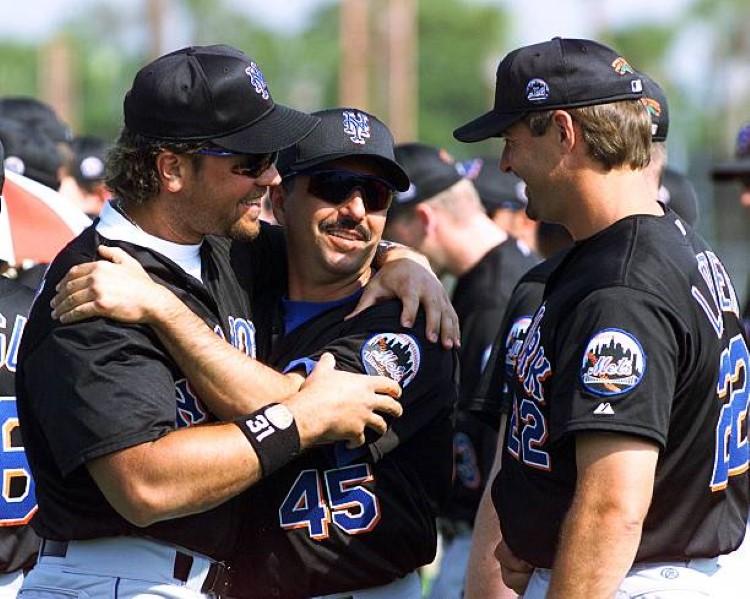Mets Mentors, Al Leiter, John Franco, Mike Piazza (Photo Credit: Getty Images)