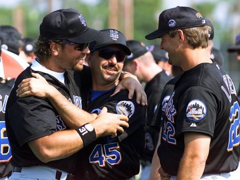 Mets Mentors, Al Leiter, John Franco, Mike Piazza (Photo Credit: Getty Images)