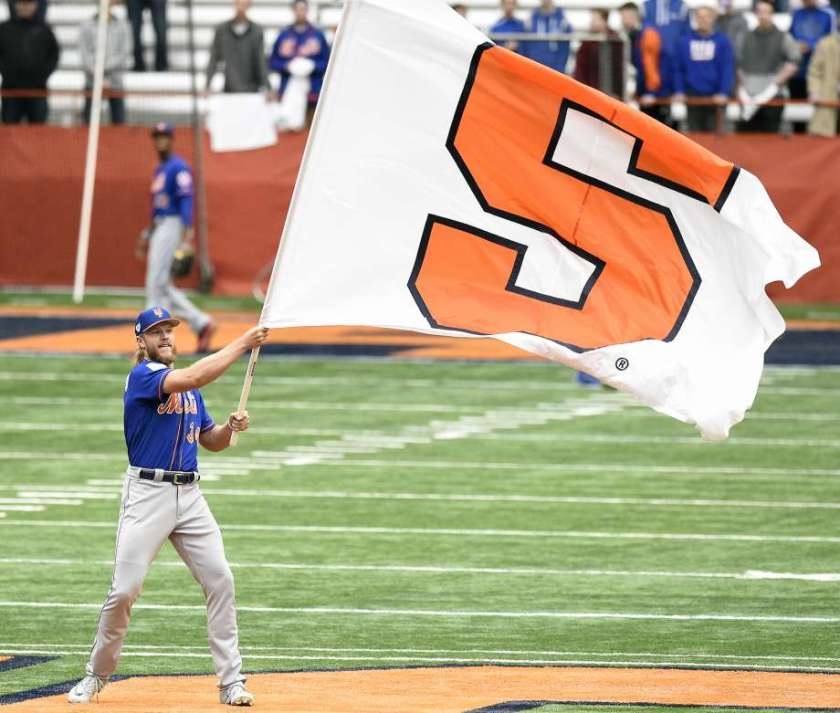 The Syracuse Mets and Noah Syndergaard are connected (Photo: CT Post)