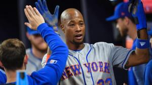 Disgruntled Keon Broxton, Mets Outfielder (Photo: SNY)
