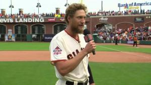 A Baseball Story - Hunter Pence, who in another baseball life was a three-time All-Star (Photo: NBC Sports)