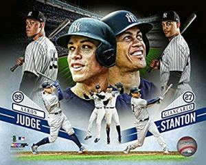 The Yankees Muscle Boys - Aaron Judge and Giancarlo Stanton (Photo: amazon.com)