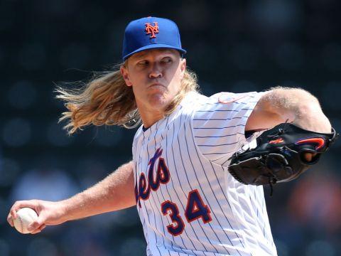 Noah Syndergaard, Starting Pitcher, New York Mets (Photo: New York Daily News)