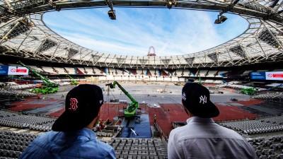 London Stadium Being Retrofitted For Baseball