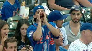 Mets Fans: Who is he booing? (Photo: New York Post)
