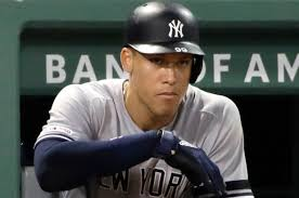 Aaron Judge - Slumping and in need of a blow? (Photo: New York Post)