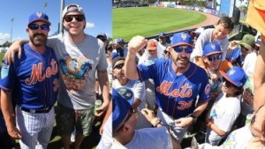 Mickey Callaway Always Available To Fans (Photo: the7line.com)