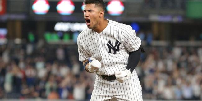 Gleyber Torres - The Sky Is The Limit (Photo: SNY TV)