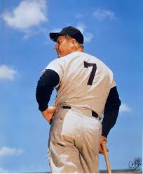 The Only Number 7 - Mickey Mantle (Photo: pinterest)