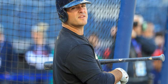 Mike Ford, Yankees on again off again first baseman (Photo: NJ.com)