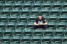 Dwindling Attendance At Citi Field (Photo: Wall street Journal)