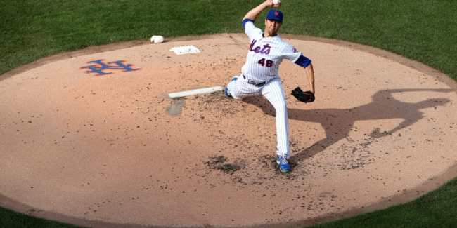 Jacob deGrom - Mets Ace Always Gets The Call (Photo: The Athletic)