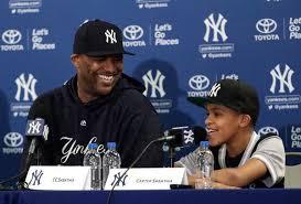 CC Sabathia & Son (Photo: New York Times)
