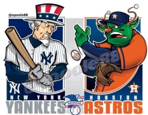 Yankees vs. Astros 2019 ALCS (Photo: twitter.com)