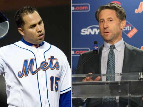 Mets and Beltran a strange paring (Photo: NY Post)