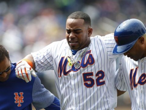 Yoenis Cespedes - injured and out for a year and a half (Photo: yahoosports.com)