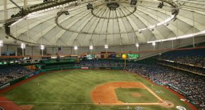 Tropicana Field - excuse for a MLB venue (Photo: thecomeback.com)