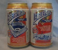 Baseball, a beer, and a ballpark (Photo: picclick)