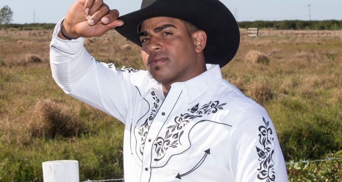 Yoenis Cespedes - Cowboy or ballplayer (Photo: NY Post)