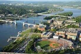 Chattanooga - a setting meant for minor league baseball (Photo: chattanoogafun.com)