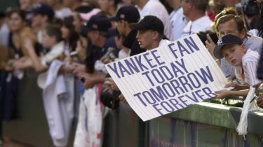 Gerrit Cole (right) as a young Yankees fan (Photo: Newsday)