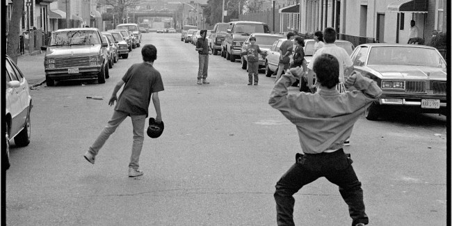 A Boy's game on the streets of New York (Photo: Matt Weber)