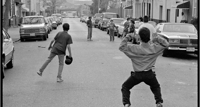 A Boy's game on the streets of New York (Photo: Matt Weber)