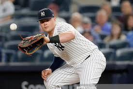 Luke Voit - hits yes - field? (Photo: pinstripealley.com)