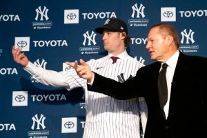 Yankees Cole $324 million a drop in the bucket (Photo: wdun.com)