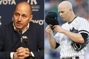 Yankees Cashman Taps Happ (Photo: NY Post)