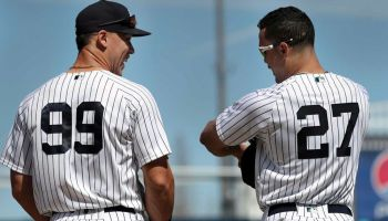 Aaron Judge and Giancarlo Stanton Injured Again (USA Today)
