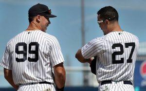 "<a rel=Yankees ""Big Guys"" Aaron Judge and Giancarlo Stanton"