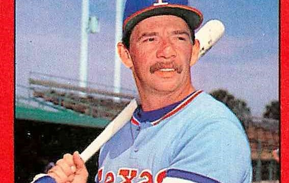 Bill Stein - Texas Rangers 1982